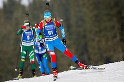 Evgeniya Pavlova (RUS) during Women 15km Individual at day 5 of IBU Biathlon World Cup 2018/19 Pokljuka, on December 6, 2018 in Rudno polje, Pokljuka, Pokljuka, Slovenia. Photo by Ziga Zupan / Sportida