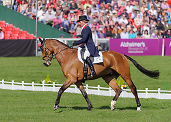 GB Silver Medallist Mary King and IMPERIAL CAVALIER - The Dressage phase of the Mitsubishi Motors Badminton Horse Trials, Friday May 3rd 2013, UK. Photo by: Nico Morgan / i-Images