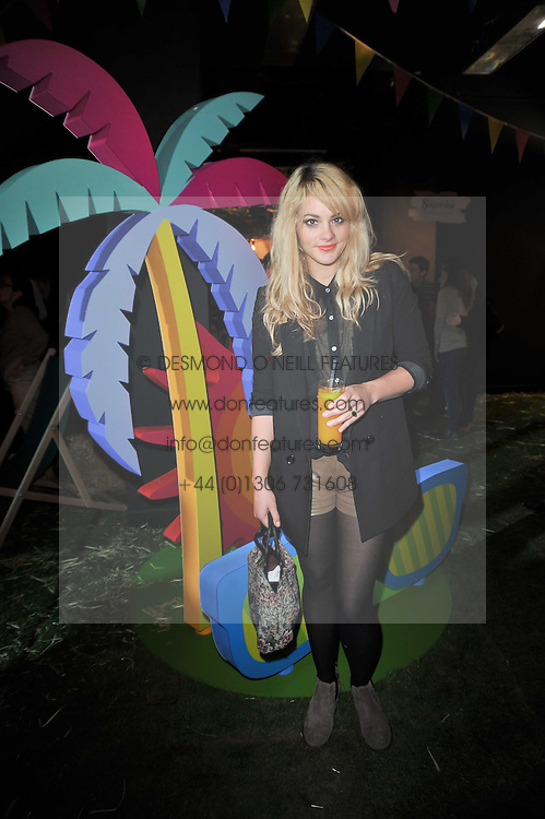 5df6fbc63580d ALICE GOLD at a party to celebrate the global launch of the Iconic  Brazilian lifestyle brand.