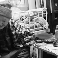Fevrier1,2017,  Tokyo , Tama leprosis sanatorium, 181 people live in Tama zenshohen  sanatorium, Hansen  diseases was  also a social problem of segregation  .Pierre Boutier