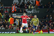 Matteo Darmian Defender of Manchester United during the Europa League match between Manchester United and Fenerbahce at Old Trafford, Manchester, England on 20 October 2016. Photo by Phil Duncan.