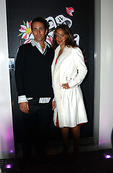 JADE JAGGER and MR DAN WILLIAMS<br /><br />at the 33rd birthday party of Jade Jagger, held at Garrard, 8 Grafton Street, London W1 on 21st October 2004.<br /><br /><br /><br />NON EXCLUSIVE - WORLD RIGHTS