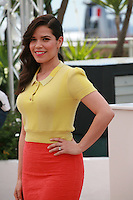 Actress America Ferrera at the photocall for the film How to Train Your Dragon 2 at the 67th Cannes Film Festival, Friday 16th May 2014, Cannes, France.