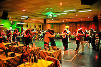 Tango dancers in the Milonga Lo de Celia, Buenos Aires, Argentina Image by Andres Morya