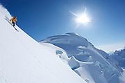 Craig Branch at Points North Heliskiing in Corova Alaska. MR