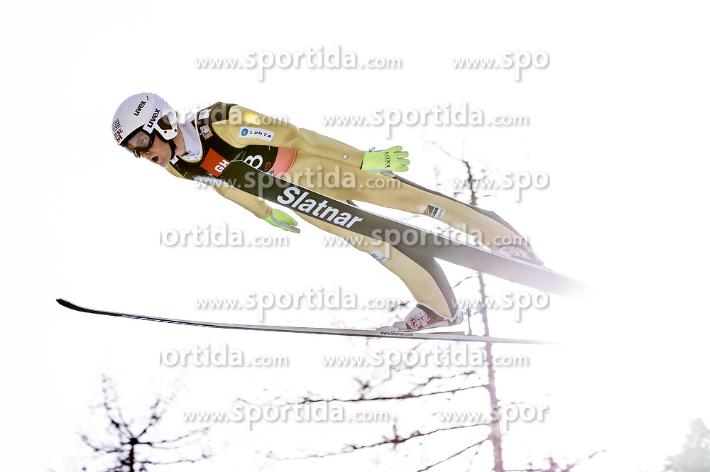 Mackenzie Boyd-Clowes of Canada during the Ski Flying Hill Individual Competition on Day Two of FIS Ski Jumping World Cup Final 2017, on March 24, 2017 in Planica, Slovenia. Photo by Vid Ponikvar / Sportida