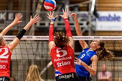 06-05-2017 NED: Finale play off Sliedrecht Sport - VC Sneek, Sliedrecht<br /> Sliedrecht is Nederlands kampioen 2016-2017 / Esther van Berkel