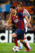 Onderwerp/Subject: FC Barcelona - Ajax - Champions League<br /> Reklame:  <br /> Club/Team/Country: <br /> Seizoen/Season: 2013/2014<br /> FOTO/PHOTO: Lionel MESSI ( Lionel Andres MESSI ) (FRONT) of FC Barcelona in duel with Daley BLIND (BEHIND) of Ajax. (Photo by PICS UNITED)<br /> <br /> Trefwoorden/Keywords: <br /> #04 $94 &plusmn;1377835766895<br /> Photo- &amp; Copyrights &copy; PICS UNITED <br /> P.O. Box 7164 - 5605 BE  EINDHOVEN (THE NETHERLANDS) <br /> Phone +31 (0)40 296 28 00 <br /> Fax +31 (0) 40 248 47 43 <br /> http://www.pics-united.com <br /> e-mail : sales@pics-united.com (If you would like to raise any issues regarding any aspects of products / service of PICS UNITED) or <br /> e-mail : sales@pics-united.com   <br /> <br /> ATTENTIE: <br /> Publicatie ook bij aanbieding door derden is slechts toegestaan na verkregen toestemming van Pics United. <br /> VOLLEDIGE NAAMSVERMELDING IS VERPLICHT! (&copy; PICS UNITED/Naam Fotograaf, zie veld 4 van de bestandsinfo 'credits') <br /> ATTENTION:  <br /> &copy; Pics United. Reproduction/publication of this photo by any parties is only permitted after authorisation is sought and obtained from  PICS UNITED- THE NETHERLANDS