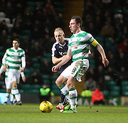 Dundee&rsquo;s Nicky Low shuts down Celtic's Scott Brown - Celtic v Dundee - Ladbrokes Scottish Premiership at Dens Park<br /> <br />  - &copy; David Young - www.davidyoungphoto.co.uk - email: davidyoungphoto@gmail.com