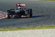 February 20, 2013 - Barcelona Spain. Daniel Ricciardo, Scuderia Toro Rosso  during pre-season testing from Circuit de Catalunya.