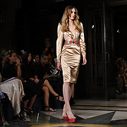 Designer Jiki Kalfar showcases is latest collection at Fashion Scout - SS19 at Freemasons Hall, London, UK. 15 September 2018.