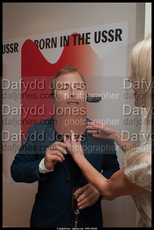 TONY CHAMBERS; , Born in the USSR, Design exhibition opening. Gallery Elena Shchukina, Beauchamp Place, Knightsbridge. London. 15 September 2014.