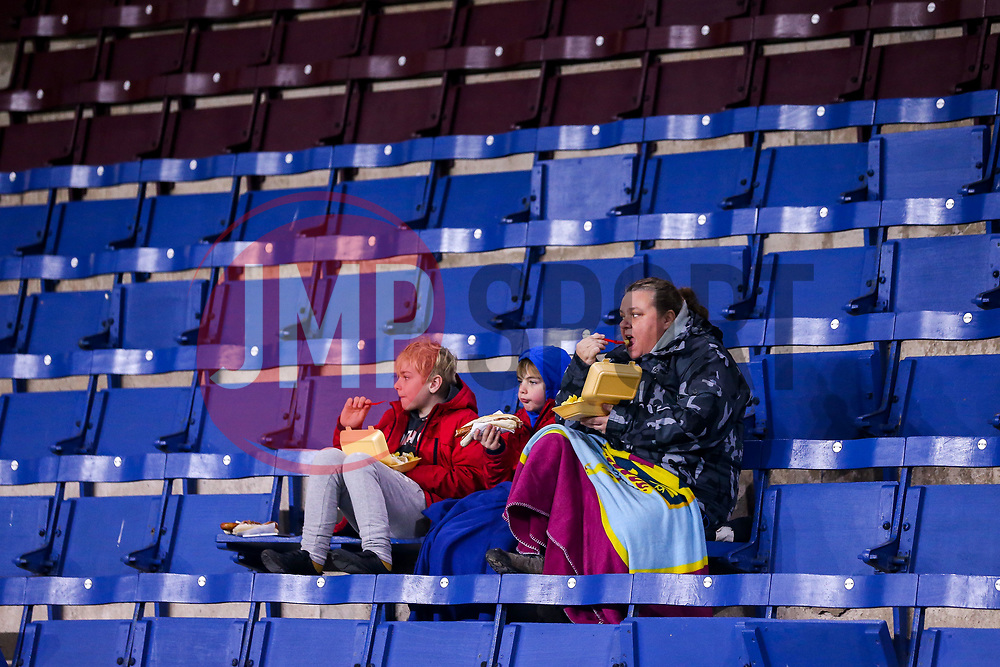 Burnley fans have some prematch food ahead of their side's Premier League fixture against Newcastle United - Mandatory by-line: Robbie Stephenson/JMP - 26/11/2018 - FOOTBALL - Turf Moor - Burnley, England - Burnley v Newcastle United - Premier League