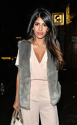 Jasmin Walia at Nobu restaurant in Mayfair London. UK. 11/08/2015<br />