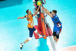 Pokersnik Jan of ACH Volley during volleyball match between ACH Volley Ljubljana (SLO) and Kuzbas Kemerevo (RUS) n 2nd Round, group B of 2019 CEV Volleyball Champions League, on December 11, 2019 in Hala Tivoli, Ljubljana, Slovenia. Grega Valancic / Sportida
