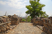 Archaeological site of the biblical city of Bethsaida, destroyed by the Assyrians in 732 BCE Sea of Galilee. Israel.  known as the birthplace of three of the Apostles Peter, Andrew and Philip. Jesus himself visited Bethsaida and performed several miracles there. (Mark 8:22-26; Luke 9:10)