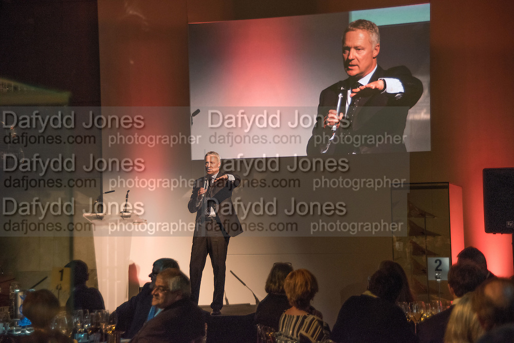 RORY BREMNER, Action Against Cancer 'A Voyage of Discovery' fundraising dinner at the Science Museum on Wednesday 14 October 2015.