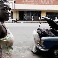 Harare, Zimbabwe 17 November 2007<br /> Cameron Street, centre of Harare.<br /> Photo: Ezequiel Scagnetti