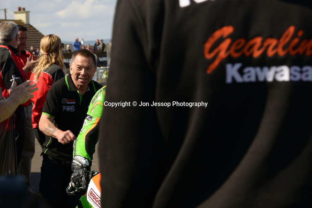 #34 Alastair Seeley Carrickfergus Gearlink Kawasaki Kawasaki