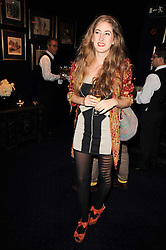 VIOLET NAYLOR-LEYLAND at the Tatler Little Black Book Party held at Tramp, 40 Jermyn Street, London on 3rd November 2010.