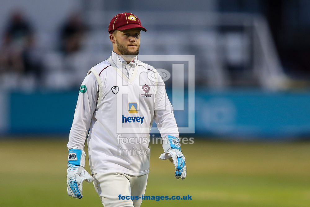 Ben Duckett of Northamptonshire CCC during the Specsavers County C'ship Div Two match at the County Ground, Northampton<br /> Picture by Andy Kearns/Focus Images Ltd 0781 864 4264<br /> 26/06/2017