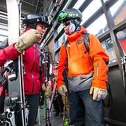 Jacob Stinson and Tete Altamiranda talk about where they are going to go after exiting the ski area.