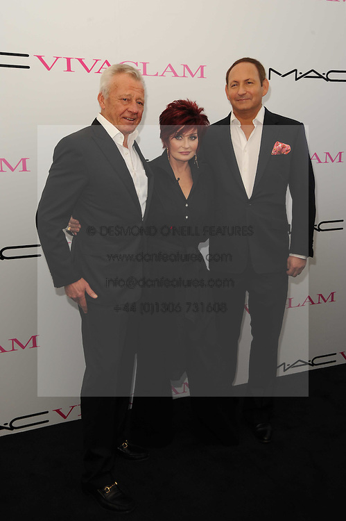 Per Neuman, Sharon Osbourne and John Dempsey at the MAC VIVA GLAM discussion hosted by Sharon Osbourne to promote MAC's latest fundraising range with all proceeds donated to HIV/AIDs charities via the MAC AIDS Fund, at Il Bottaccio, 9 Grosvenor Place, London on 1st March 2010.