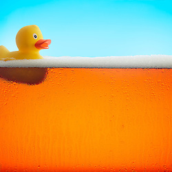 Beer with Rubber Ducky