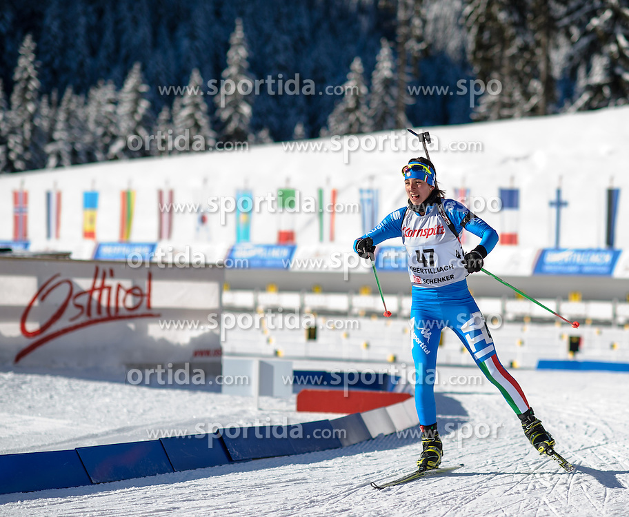 25.01.2013, Biathlonzentrum, Obertilliach AUT, IBU, Jugend und Junioren Weltmeisterchaften, Sprint Jugend Damen, im Bild Lisa Vittozzi (ITA) // Lisa Vittozzi from Italy during the Sprint Youth Womens of IBU Youth  and Juniors World Championships at Biathloncenter, Obertilliach, Austria on 2013/01/25 . EXPA Pictures © 2013, PhotoCredit: EXPA/ Michael Gruber