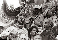 March Against Apartheid in Trafalgar Square  November 2 1986.