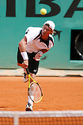 Roland Garros. Paris, France. May 31st 2007..Lleyton HEWITT against Gaston GAUDIO.