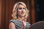 Tara Mack, a member of the Minnesota House of Representatives, speaks during day two of the Conservative Political Action Conference (CPAC) at the Gaylord National Resort & Convention Center in National Harbor, Md.