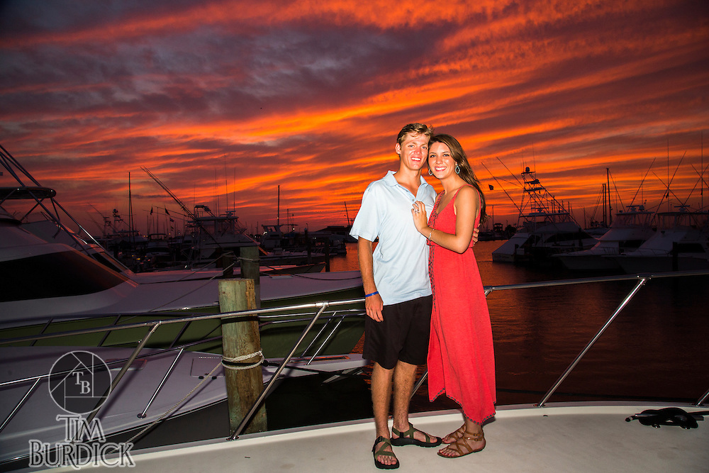 Wedding Proposal photography by Tim Burdick in Port Aransas, TX
