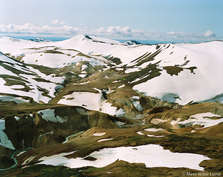 Hveradalir, Kerlingarfjöll, Hálendið /.Hveradalir geothermal field in Kerlingarfjoll, Highlands of Iceland.