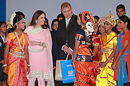 """PRINCE ANDREW.the Duke of York and Nita Ambani, Chairperson Dhirubhai Ambani International School (DAIS) interacts with students at the Dhirubai Ambani International School in Mumbai, India_May 2, 2012.The Duke of York is on a week-long visit to further enhance ties with India in diverse areas including defence and trade. .The Prince, representing Queen Elizabeth II in the year of her Diamond Jubilee, will also travel to Mumbai, Kolkata, Chennai, Bangalore and north eastern state of Nagaland. .Mandatory Credit Photo: ©Ramesh Nair-Solaris/NEWSPIX INTERNATIONAL..(Failure to credit will incur a surcharge of 100% of reproduction fees)..                **ALL FEES PAYABLE TO: """"NEWSPIX INTERNATIONAL""""**..IMMEDIATE CONFIRMATION OF USAGE REQUIRED:.Newspix International, 31 Chinnery Hill, Bishop's Stortford, ENGLAND CM23 3PS.Tel:+441279 324672  ; Fax: +441279656877.Mobile:  07775681153.e-mail: info@newspixinternational.co.uk"""