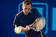 IRVING, TX - JULY 10:  Bobby Reynolds of the Washington Kastles returns the ball during a mens doubles match against the Texas Wild on July 10, 2013 at the Four Seasons Resort and Club in Irving, Texas.  (Photo by Cooper Neill/Getty Images) *** Local Caption *** Bobby Reynolds