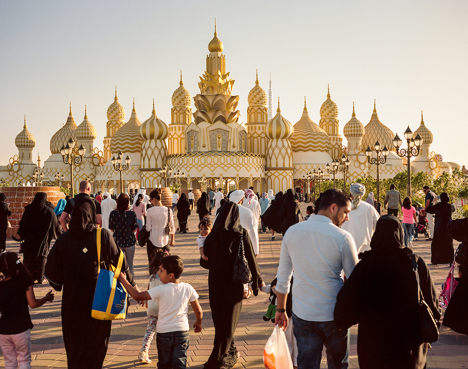 APRIL 2016: Global Village Dubailand is the region's first cultural, entertainment, family and shopping destination