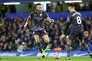 Sheffield Wednesday forward Steven Fletcher (9) during the The FA Cup fourth round match between Chelsea and Sheffield Wednesday at Stamford Bridge, London, England on 27 January 2019.