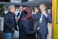 BUSSUM - Jeroen Stevens, Edwin Alblas, Lodewijk Klootwijk.   Nationaal Golf Congres & Beurs. COPYRIGHT KOEN SUYK