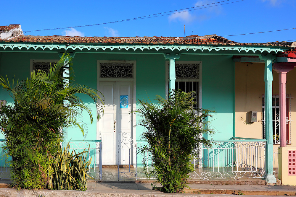 House in Jaruco, Mayabeque, Cuba.