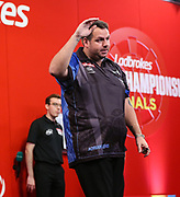 Adrian Lewis during the 2018 Players Championship Finals at Butlins Minehead, Minehead, United Kingdom on 23 November 2018.