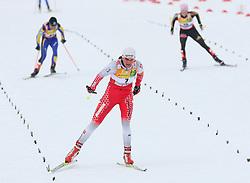 Petra Majdic of Slovenia placed ninth at Ladies` Pursuit 7,5 km Classic + 7,5 km Free at FIS Nordic World Ski Championships Liberec 2008, on February 21, 2009, in Vestec, Liberec, Czech Republic. (Photo by Vid Ponikvar / Sportida)