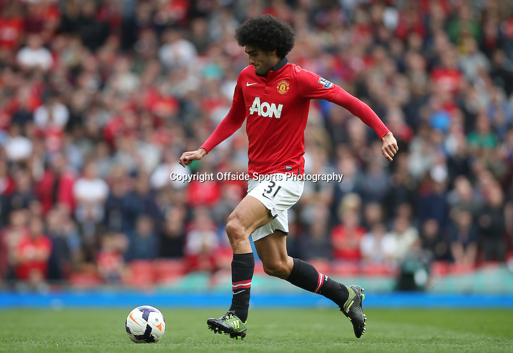 14th September 2013 - Barclays Premier League - Manchester United v Crystal Palace - Marouane Fellaini of Man Utd - Photo: Simon Stacpoole / Offside.