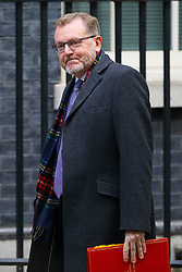 © Licensed to London News Pictures. 24/10/2016. London, UK. Scottish Secretary DAVID MUNDELL attends a Joint Ministerial Committee to discuss the UK regional response to Brexit in Downing Street on Monday, 24 October 2016. Photo credit: Tolga Akmen/LNP