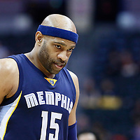 01 February 2016: Memphis Grizzlies guard Vince Carter (15) is seen during the Memphis Grizzlies 119-99 victory over the Denver Nuggets, at the Pepsi Center, Denver, Colorado, USA.