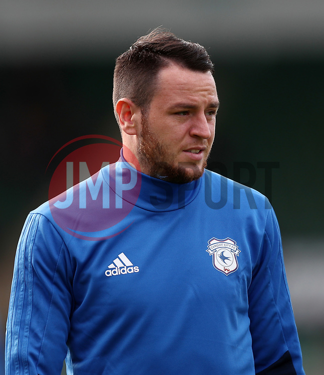Lee Tomlin of Cardiff City - Mandatory by-line: Gary Day/JMP - 21/07/2017 - FOOTBALL - Home Park - Plymouth, England - Plymouth Argyle v Cardiff City - Pre-season friendly