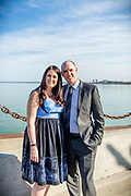 Justin & Jennifer's Spring Spencers at the Waterfront Wedding
