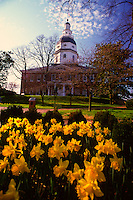 Annapolis, Maryland--The Maryland State House is the oldest state house still in legislative use. It was designated a National Historic Landmark in 1960.
