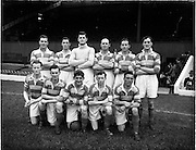28/08/1952.08/28/1952.28 August 1952.Soccer, City Cup Semi Final at Dalymount Park, Drumcondra v Cork Athletic. The Drumcondra team.