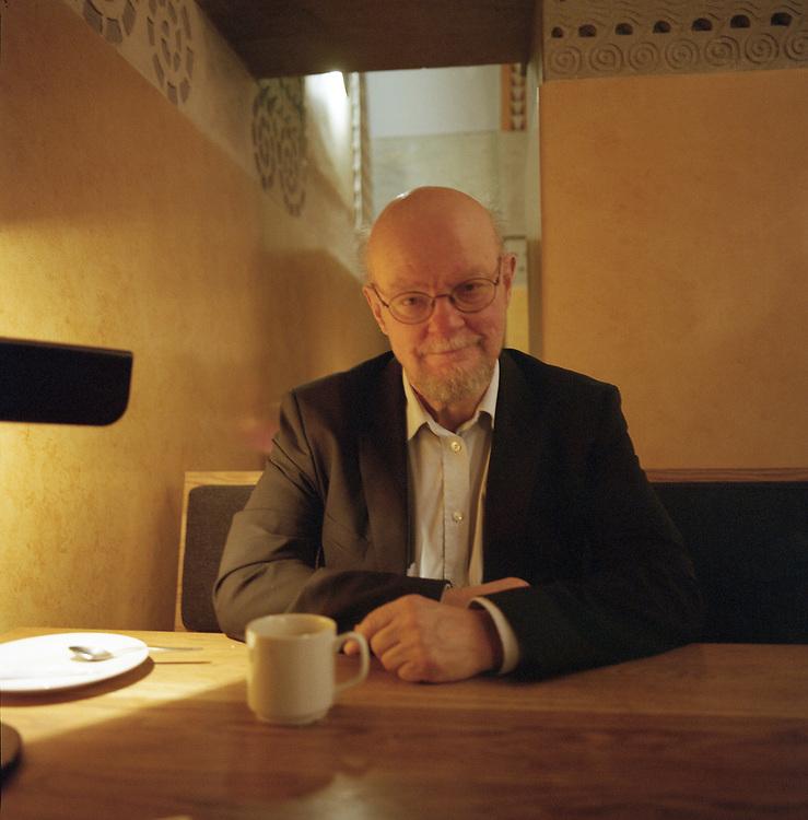 Osmo Soininvaara, statisticien, ancien membre du parti des Verts, Helsinki